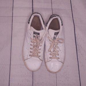 Adidas Stan Smith White Leather Sneakers Size 10